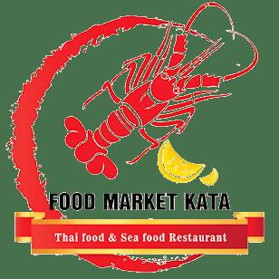 Logo Food Market Kata Restaurant