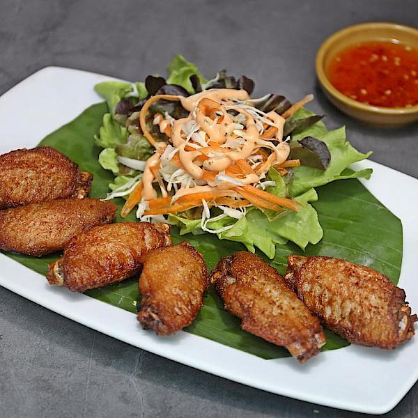 Wings on Fried Chicken