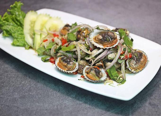 Cockle Spicy Salad