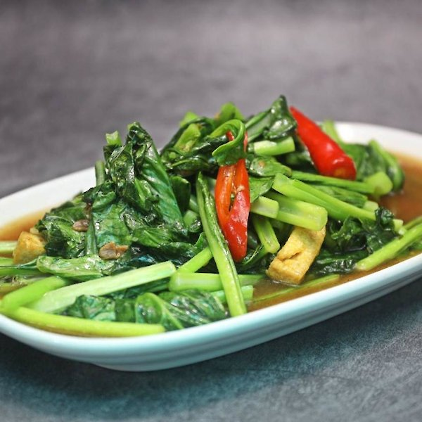Stir-Fried Guangdong with Tofu