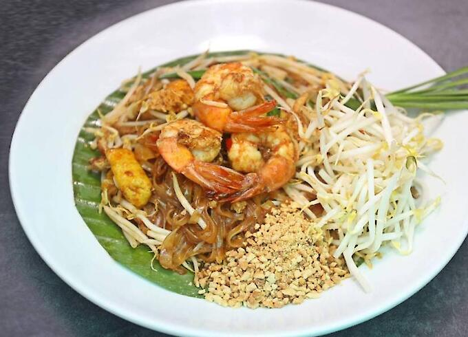 Pad Thai Fried Moodle with Seafood