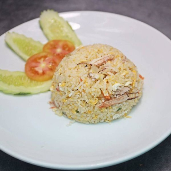 Fried Rice with Crab Meat