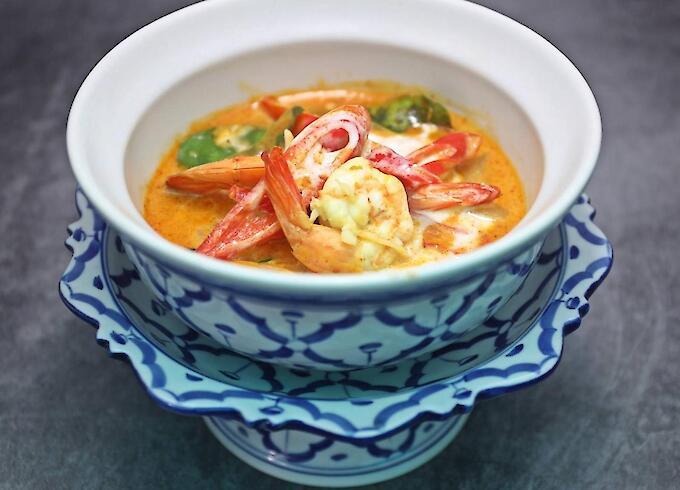 Seafood Panang Curry
