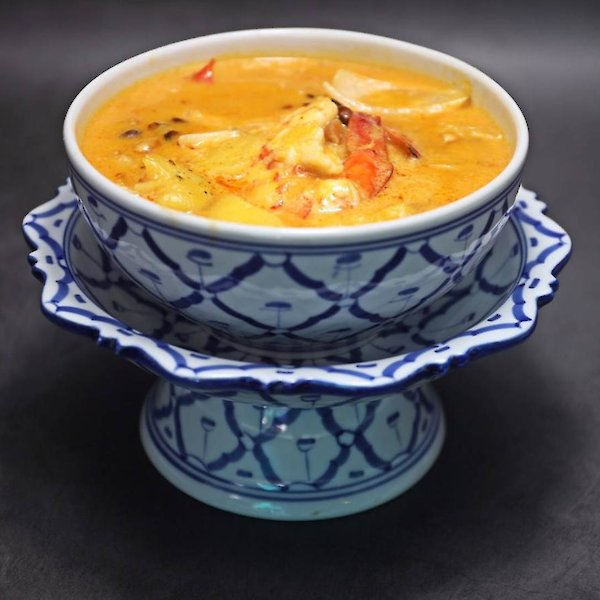 Massaman Curry with Shrimp