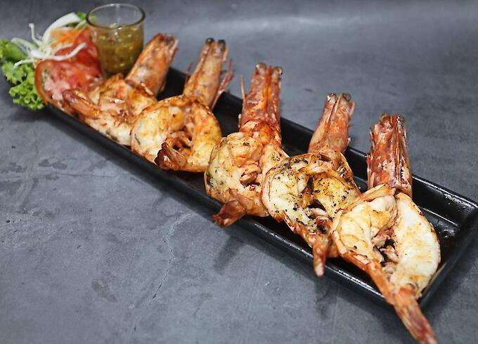 Grilled Tiger Prawn