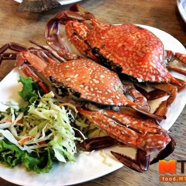 Grilled Blue Crab