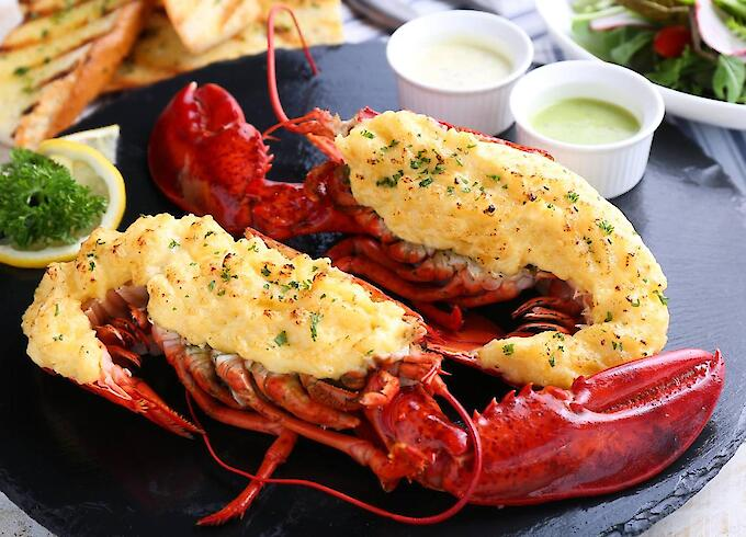 Lobster Canadians Thermidor