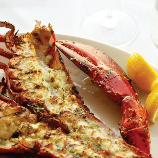 Grilled Lobster Canadians with Black pepper