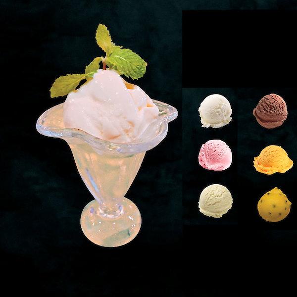 Ice cream one scoop
